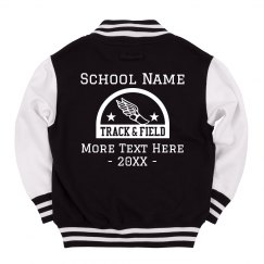 Track Team Custom School Jacket
