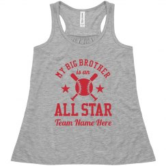 Baseball Sister Custom Team
