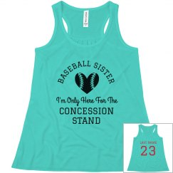 Baseball Sister Concession Stand