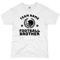 Team Name Football Brother Custom Tee