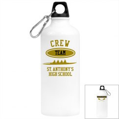 PERSONALIZED ALUMINUM CREW WATER BOTTLE