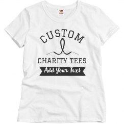 Custom Group Charity Shirts