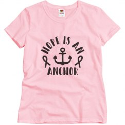 Hope is a anchor breast cancer