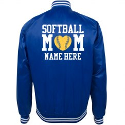 Softball Mom Team Colors