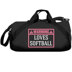 Warning, loves softball!