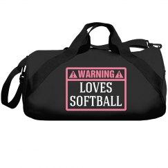 Warning, loves softball!