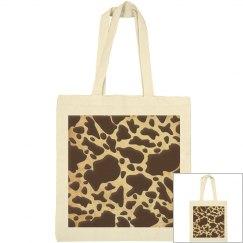 Brown & Gold Animal Print