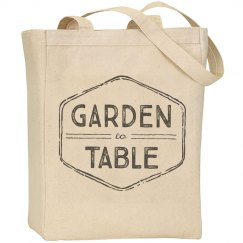 GARDEN TO TABLE TOTE