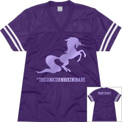 Team Hosey Jersey - Purple/Electric Grape