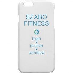 SF iPhone 6 Case Train Evolve