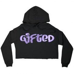 Gifted Crop Hoodie