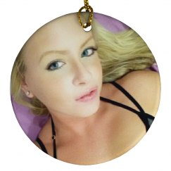 Ms. Vox Portrait ornament
