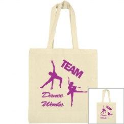 Team Dance Works bargain tote
