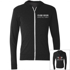 Unisex Front/Back Zip-Up Hoodie (Multiple Colors!)