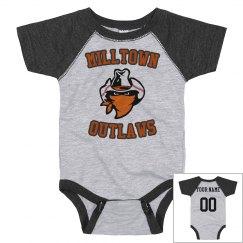 Infant Raglan Baseball Onesie