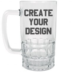 Custom Design Beer Stein Mug