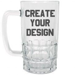 Custom Design Beer Stein Mug