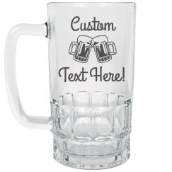 Custom Text Beer Party Gift