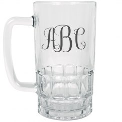 Custom Monogram Initials Beer Gift