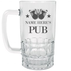 Custom Name's Pub Beer Enthusiast