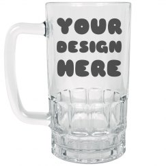 Your Design Here Custom Beer Stein
