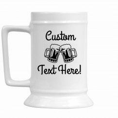 Custom Beer Mug For Celebrations