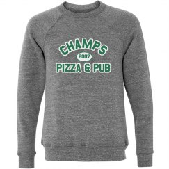 Champs 3 - Grey, Green & White sweatshirt