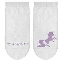 Unicorn gym socks