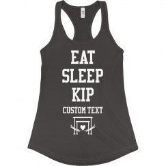 Eat Sleep Kip Gymnastic Shirts