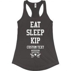 Eat Sleep Kip Gymnastic Shirts