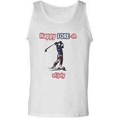 4th of July Golfer