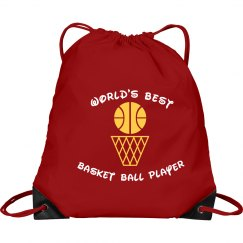 Basketball Drawstring Bag