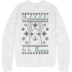 Llama Christmas