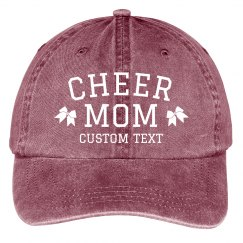 Cheer Mom Custom Baseball Cap