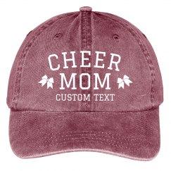 Cheer Mom Custom Baseball Cap
