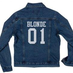 Blonde Matching Best Friends Jacket