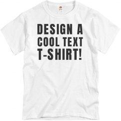 Design A Text Tee