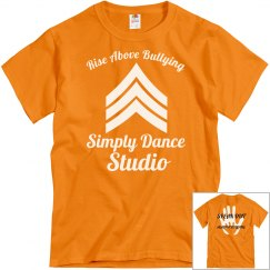 Rise above bullying tshirt