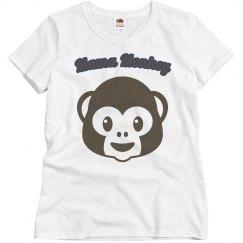 Lala monkey shirt