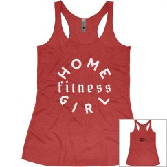 Home Fitness Girl (Red)