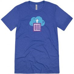 Azure Container Instances Tee True Royal Triblend