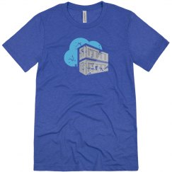 Azure Container Registry Tee Blue