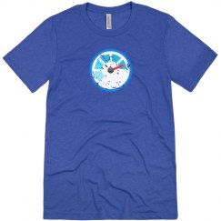 Azure Monitor Tee Blue