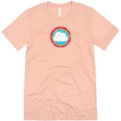 Cloud Bullseye Tee Peach