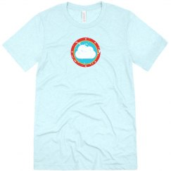 Cloud Bullseye Tee Light Blue