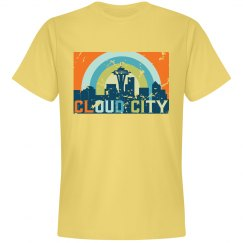 Cloud City Tee Yellow