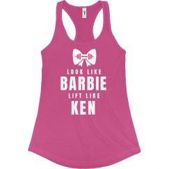 Look Like Barbie Lift Like Ken