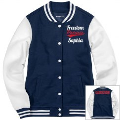 Freedom Patriots (Personalized) / Last Name (Back)