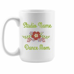 Custom Dance Stuido Mom Gift