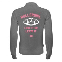 Roller Derby Girl Workout Jacket